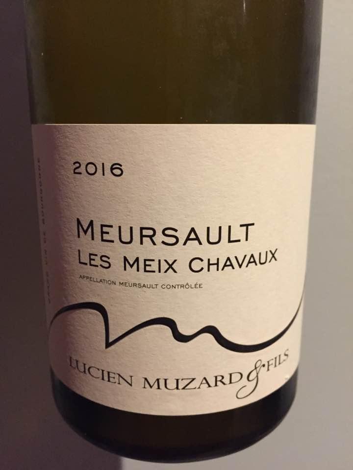 Lucien Muzard & Fils – Les Meix Chavaux 2016 – Meursault