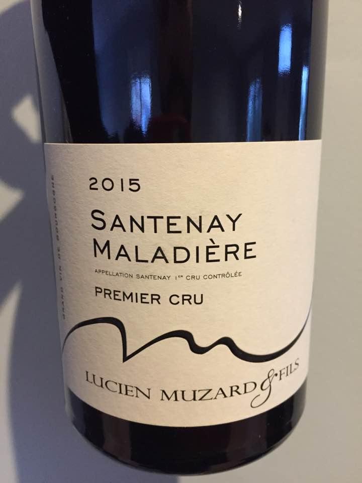 Lucien Muzard & Fils – Maladière 2015 – Santenay Premier Cru