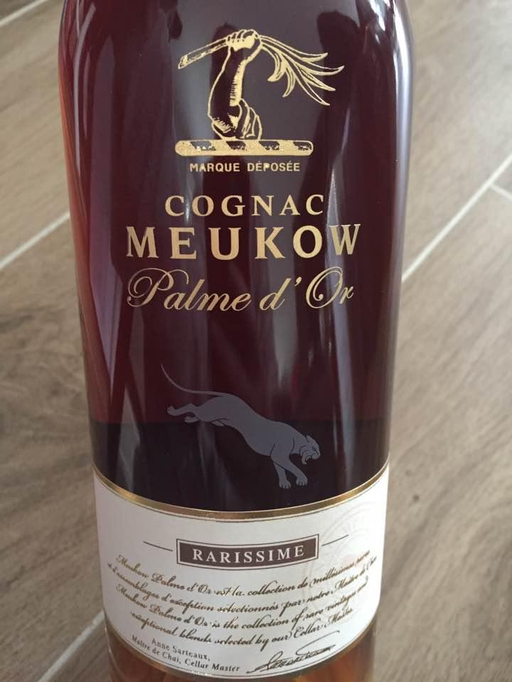 Meukow – Palme d'or – Rarissime – Cognac