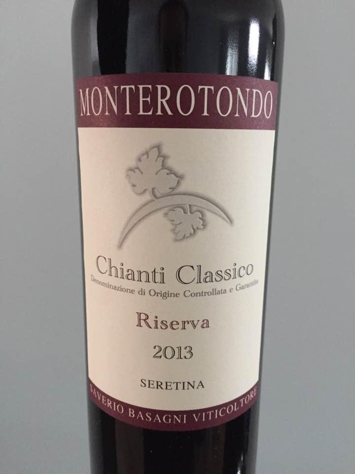 Monterotondo–Seretina – 2013–Chianti Classico Riserva