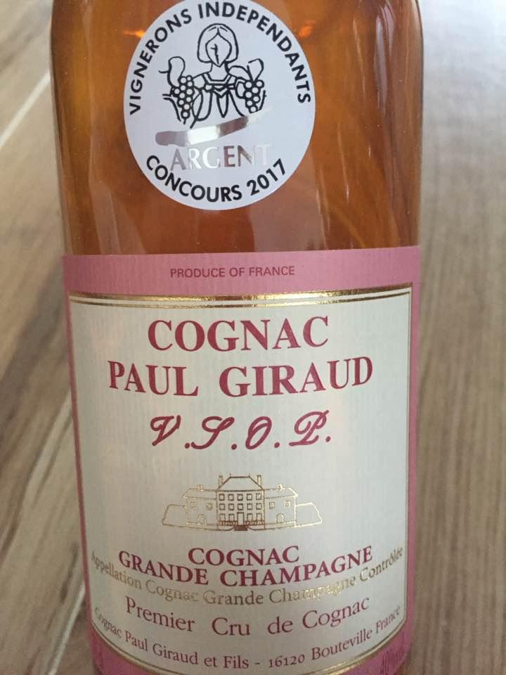 Paul Giraud – VSOP – Cognac, Grande Champagne