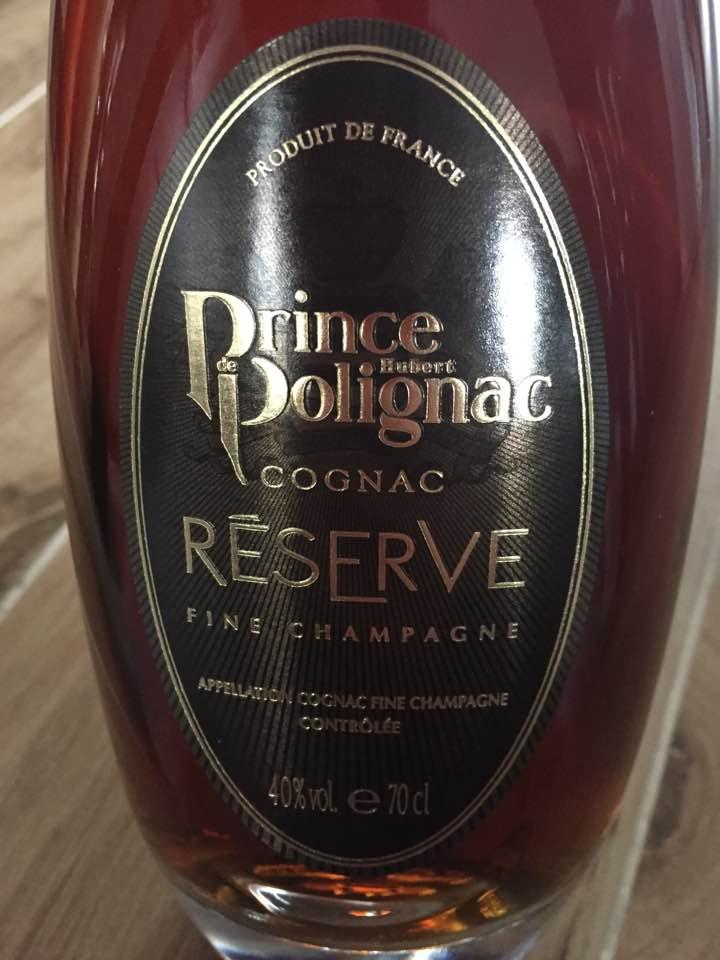 Prince Hubert de Polignac – Réserve – Fine Champagne, Cognac