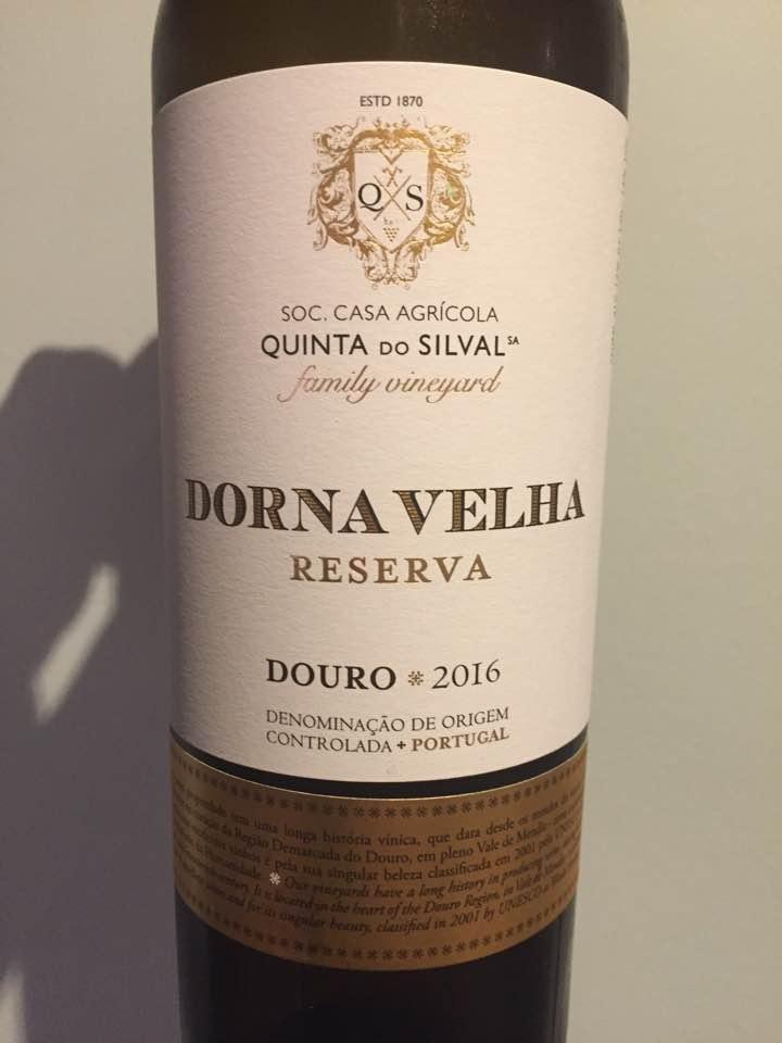 Quinta Do Silval – Dorna Velha Reserva 2016 – Douro