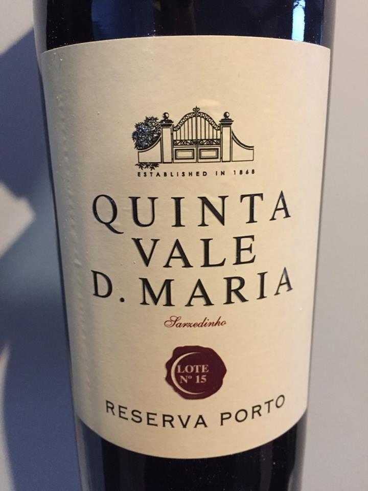 Quinta Vale D. Maria – Lote N°15 – Reserva Porto