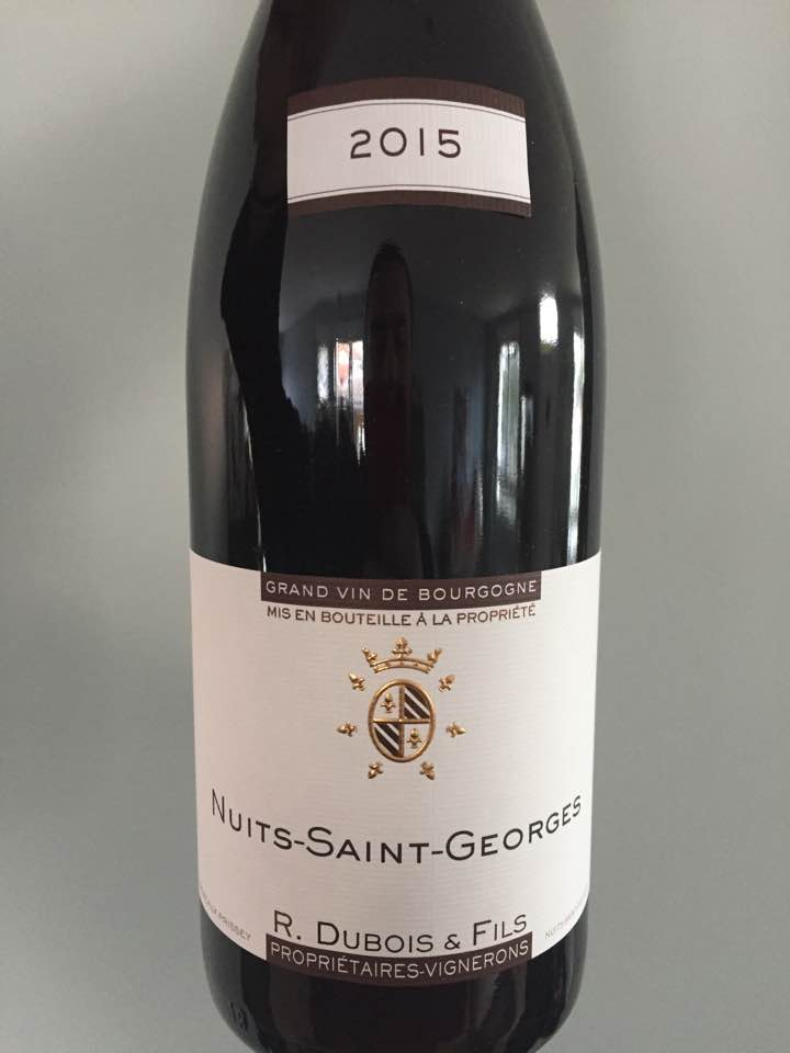 R. Dubois & Fils 2015 – Nuits-Saint-Georges