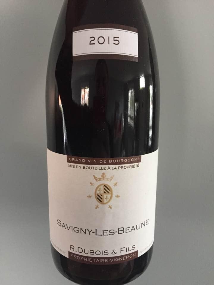 R. Dubois & Fils 2015 – Savigny-Les-Beaune
