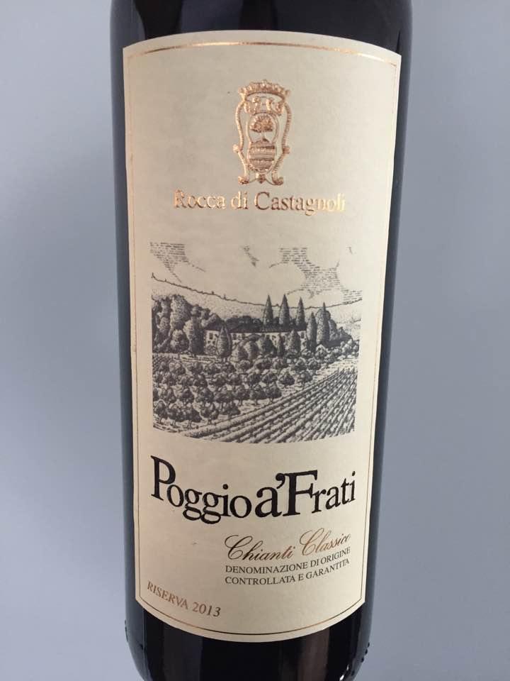 Rocca di Castagnoli – Poggio a'Frati 2013 – Chianti Classico Riserva