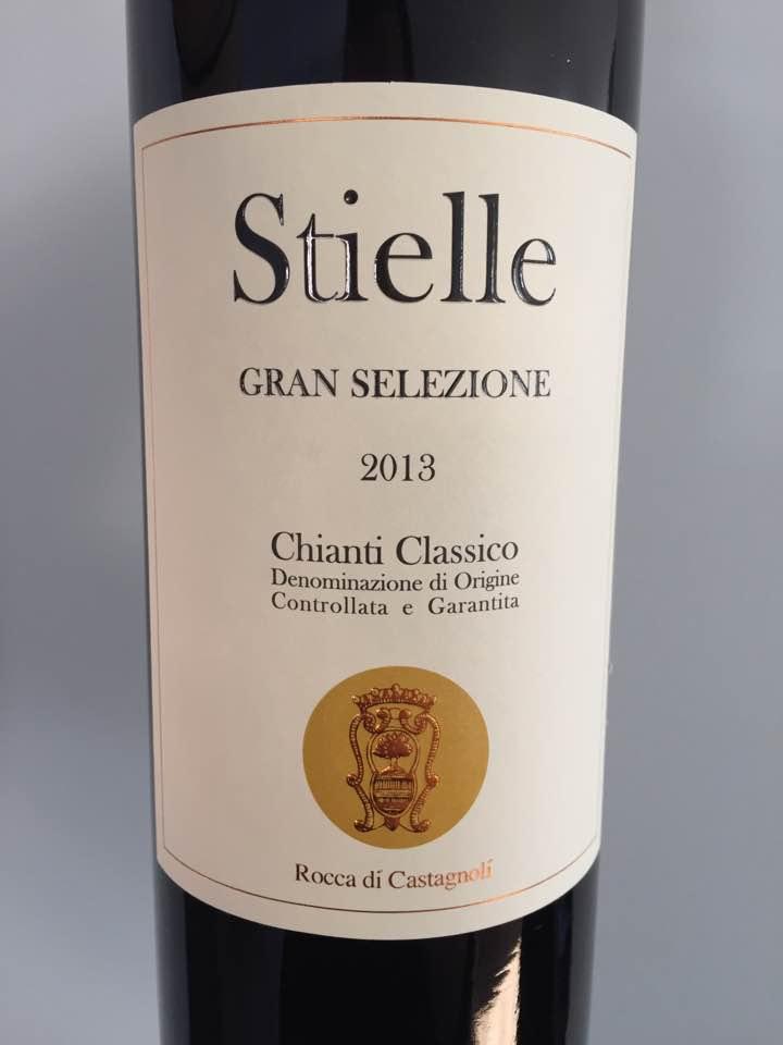 Rocca di Castagnoli – Stielle 2013 – Chianti Classico Gran Selezione
