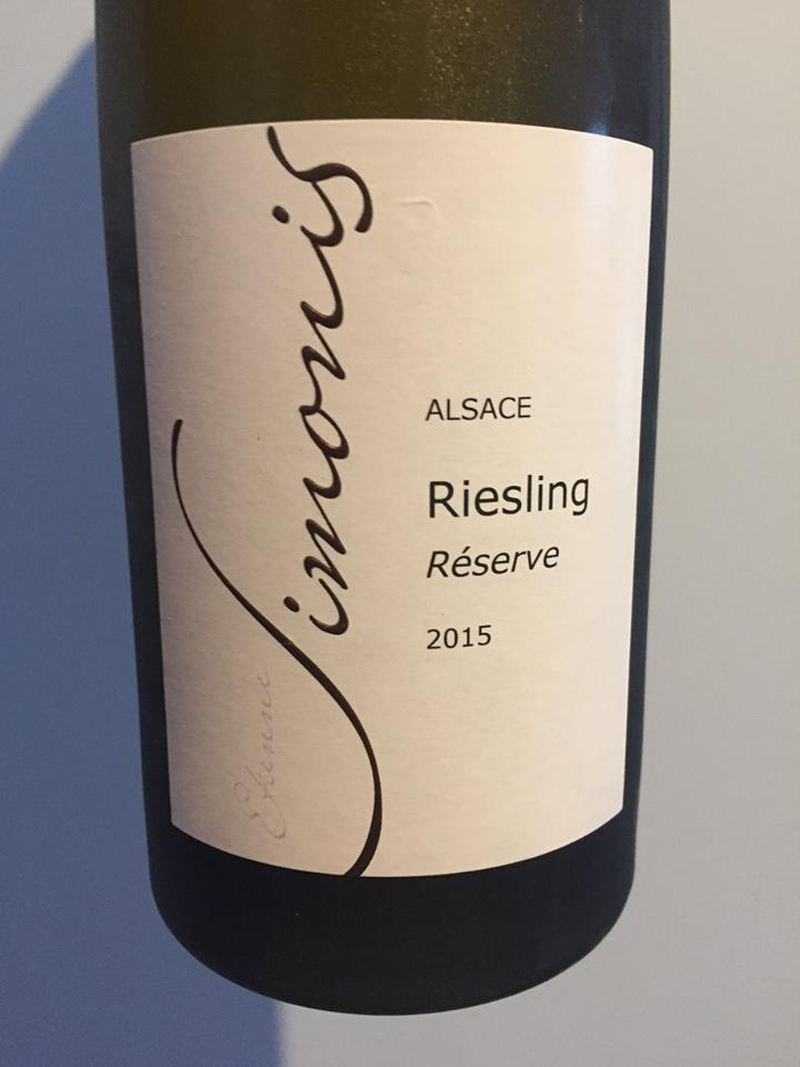 Simonis – Riesling Reserve 2015 – Alsace