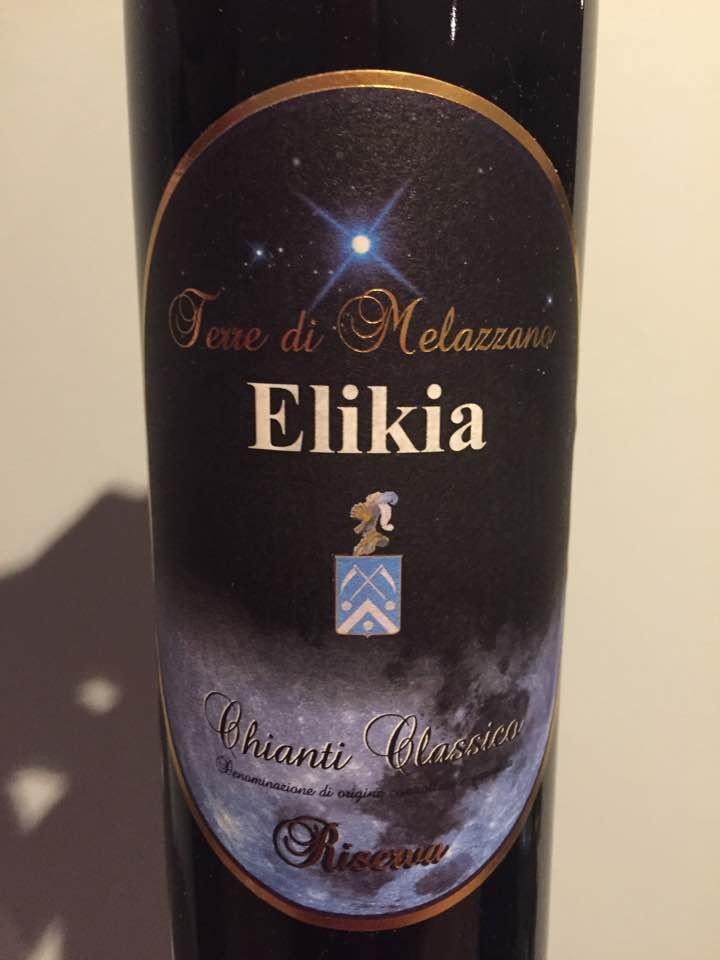 Terre di Melazzano–Elikia 2011–Chianti Classico Riserva
