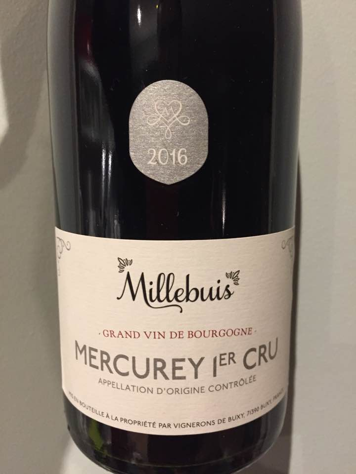 Vignerons de Buxy – Millebuis 2016 – Mercurey 1er Cru