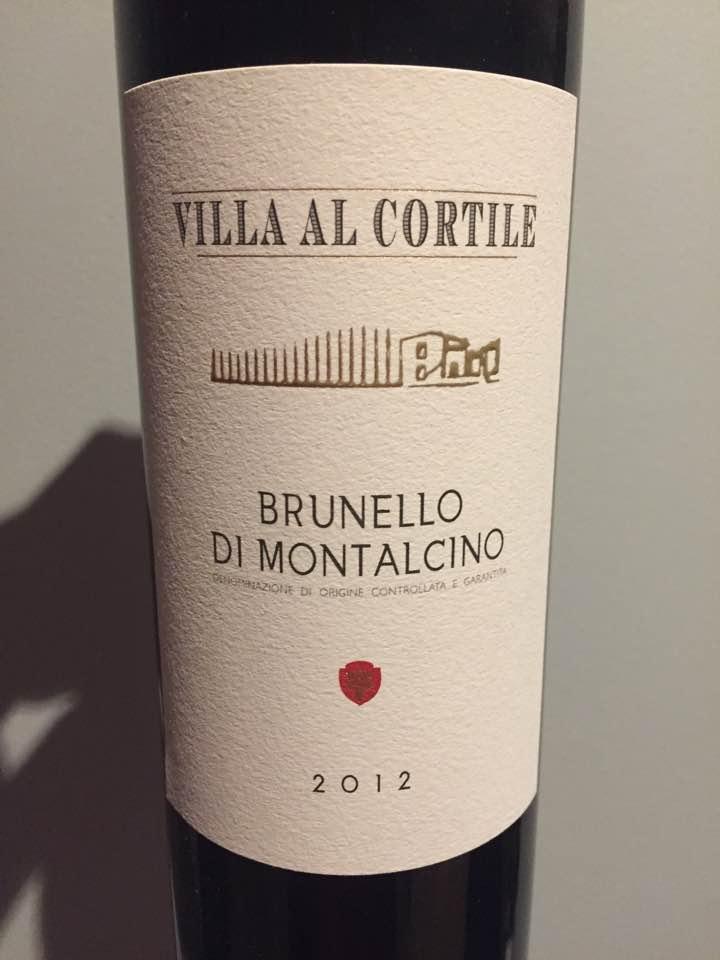 Villa Al Cortile 2012 – Brunello di Montalcino DOCG