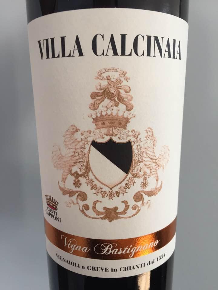 Villa Calcinaia – Vigna Bastignano 2014 – Chianti Classico Gran Selezione