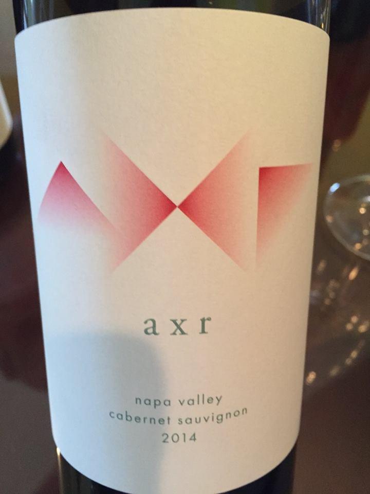 AXR – Cabernet Sauvignon 2014 – Napa Valley