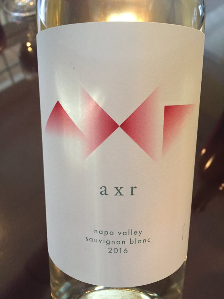 AXR – Sauvignon Blanc 2016 – Napa Valley