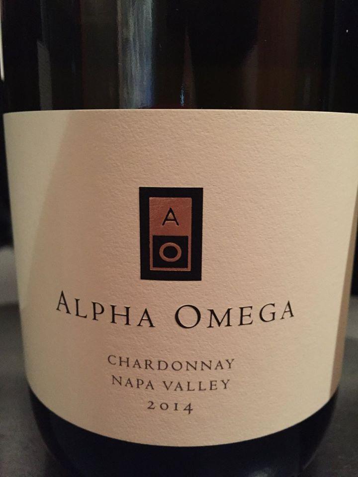 Alpha Omega – Chardonnay 2014 – Napa Valley