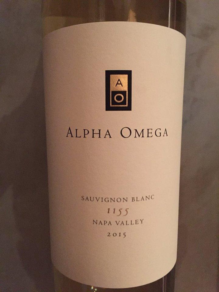 Alpha Omega – Sauvignon Blanc 1155 2015 – Napa Valley