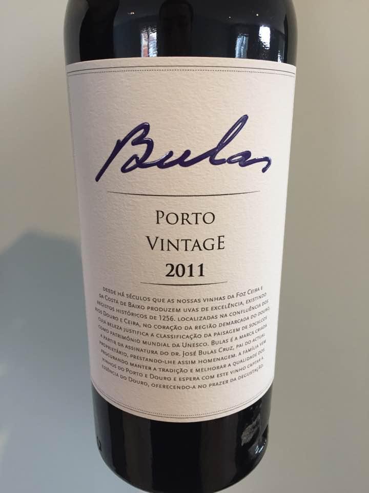 Bulas – 2011 Vintage Porto
