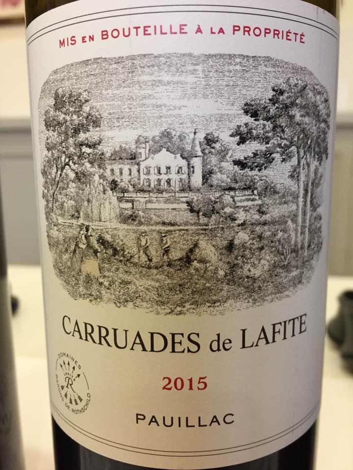 Carruades de Lafite 2015 – Pauillac