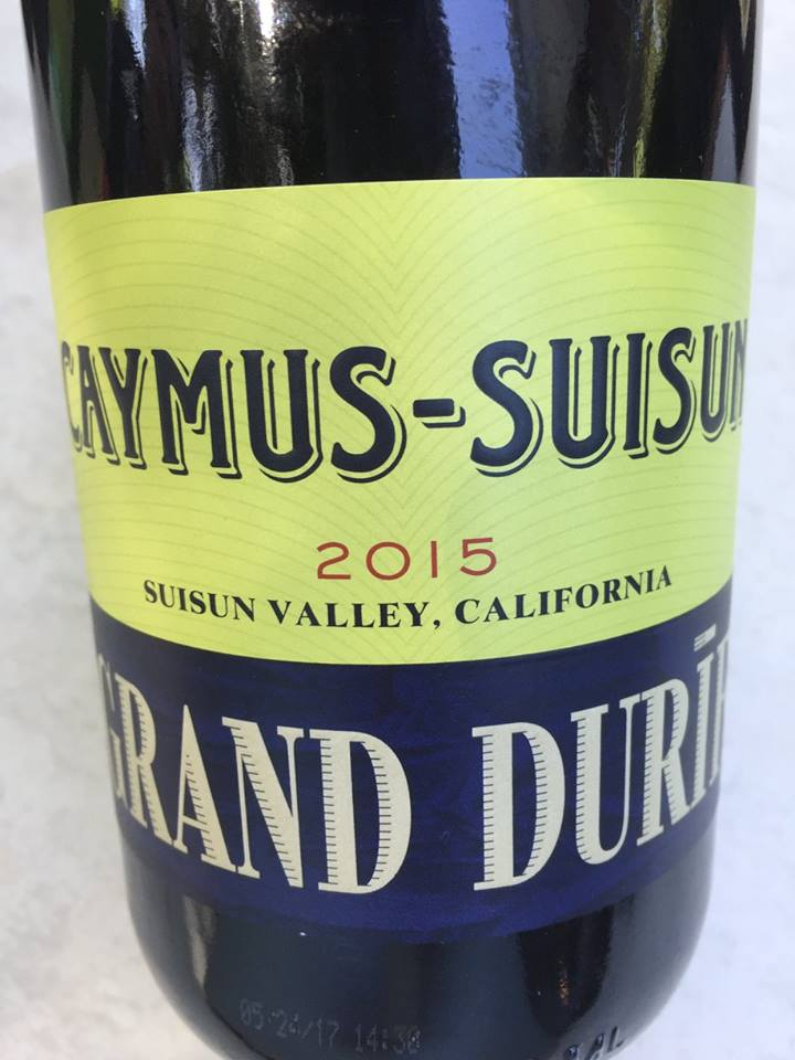 Caymus-Suisun – Grand Durif 2015 – Suisun Valley