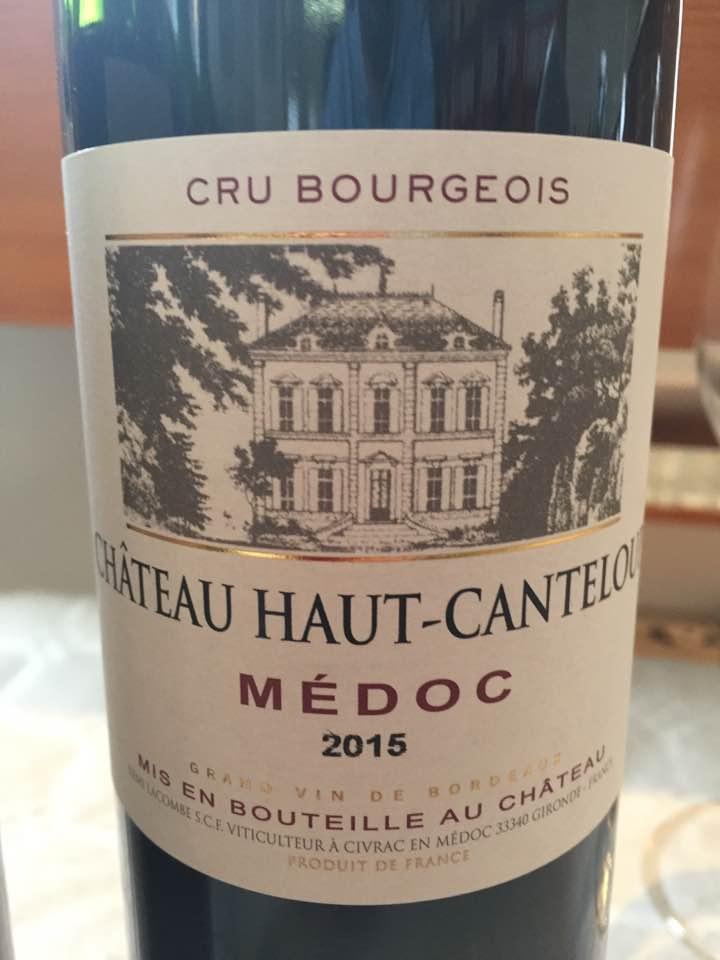 Château Haut-Canteloup 2015 – Médoc– Cru Bourgeois