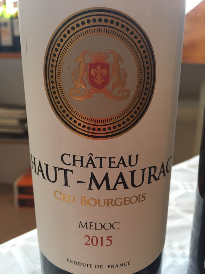 Château Haut-Maurac 2015 – Médoc – Cru Bourgeois