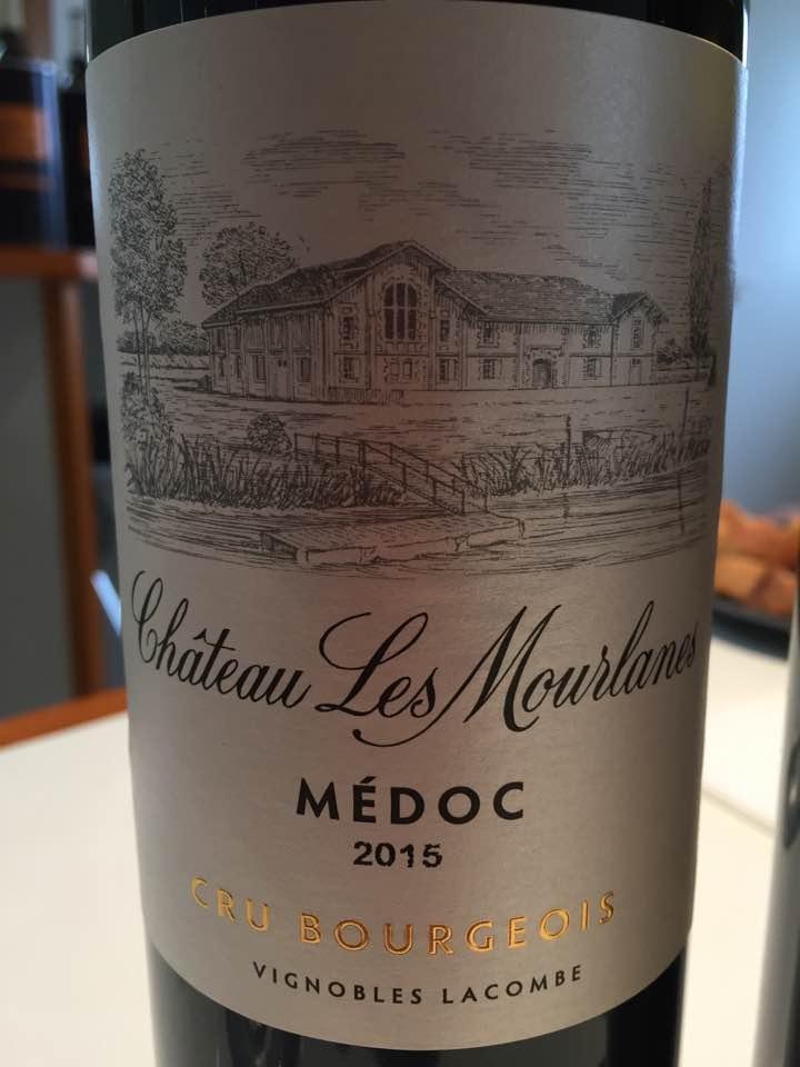 Château Les Mourlanes 2015 – Médoc – Cru Bourgeois