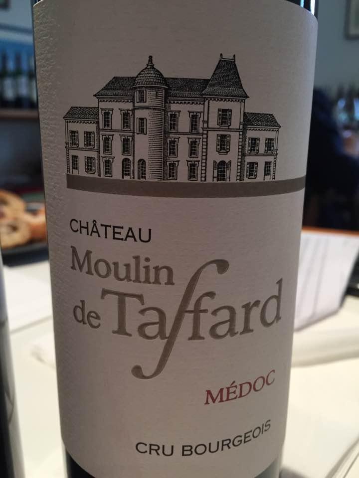 Château Moulin de Taffard 2015 – Médoc– Cru Bourgeois