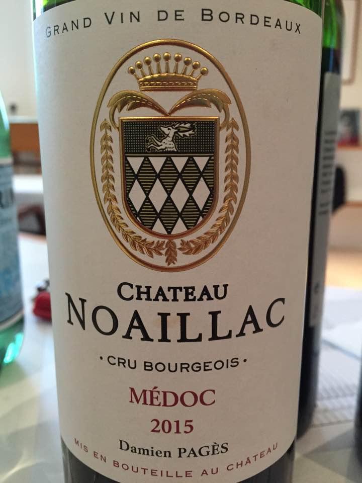 Château Noaillac 2015– Médoc – Cru Bourgeois