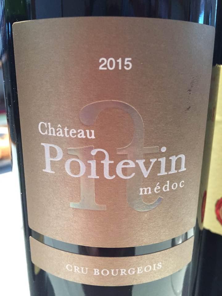 Château Poitevin 2015 – Médoc – Cru Bourgeois