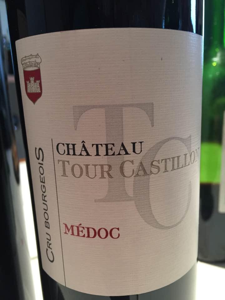 Château Tour Castillon 2015 – Médoc – Cru Bourgeois