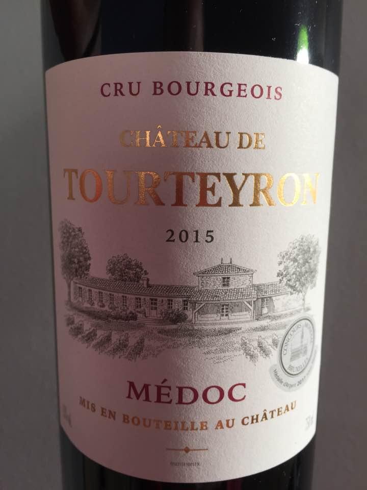 Château Tourteyron 2015 – Médoc – Cru Bourgeois