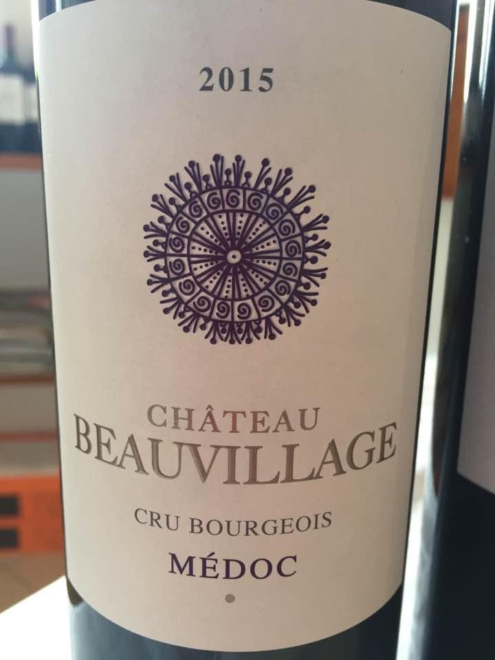 Château Beauvillage 2015 – Médoc– Cru Bourgeois