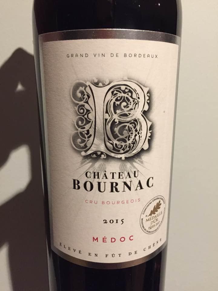 Château Bournac 2015 – Médoc – Cru Bourgeois