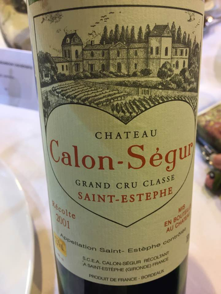 Château Calon Ségur 2015 – Saint-Estèphe, 3ème Cru Classé