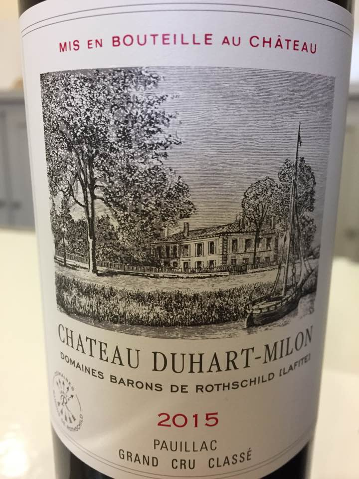 Château Duhart-Milon 2015 – Pauillac, 4ème Cru Classé