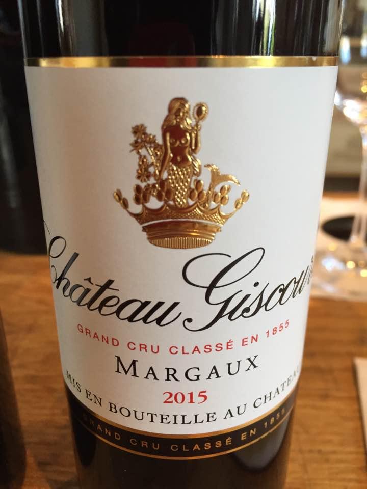 Château Giscours 2015 – Margaux, 3ème Cru Classé