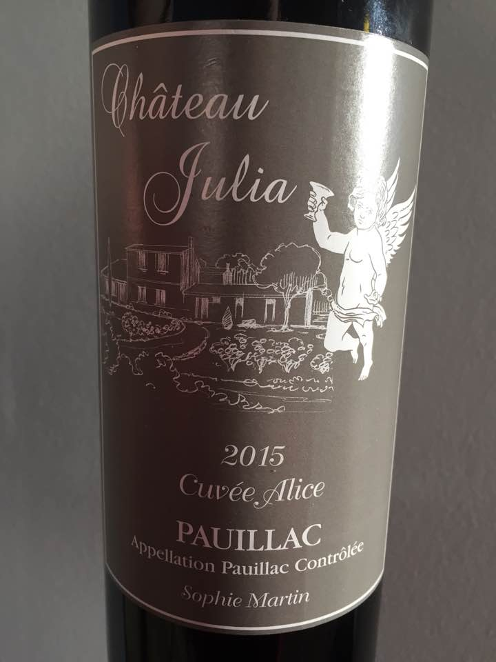 Château Julia – Cuvée Alice 2015 – Pauillac