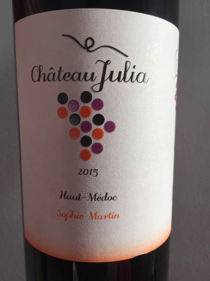 Château Julia 2015 – Haut-Médoc