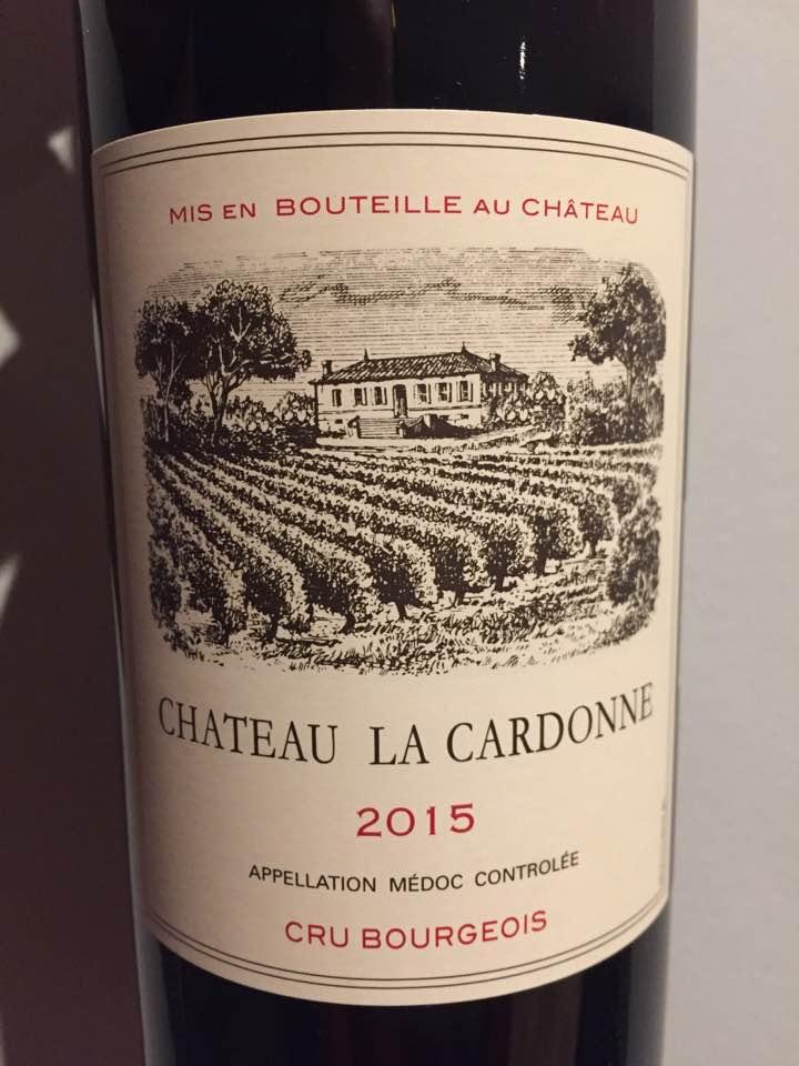 Château La Cardonne 2015 – Médoc – Cru Bourgeois