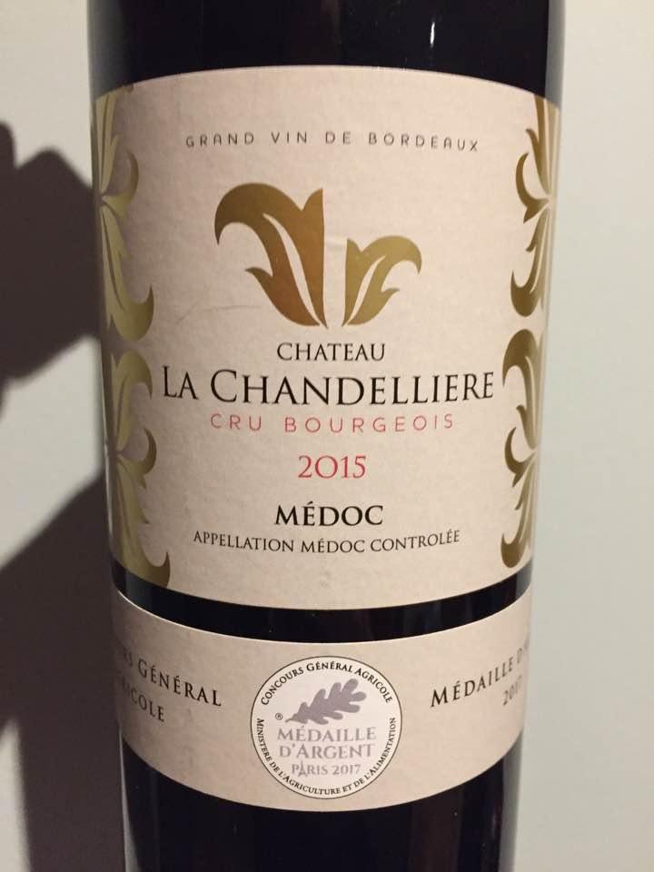 Château La Chandellières 2015 – Médoc – Cru Bourgeois