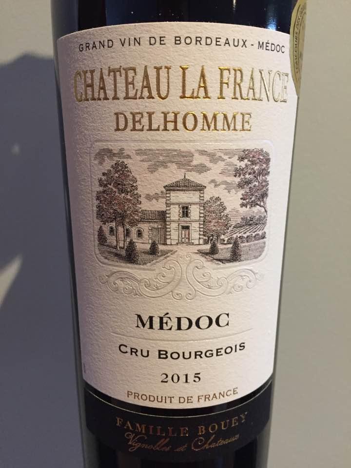 Château La France Delhomme 2015 – Médoc – Cru Bourgeois