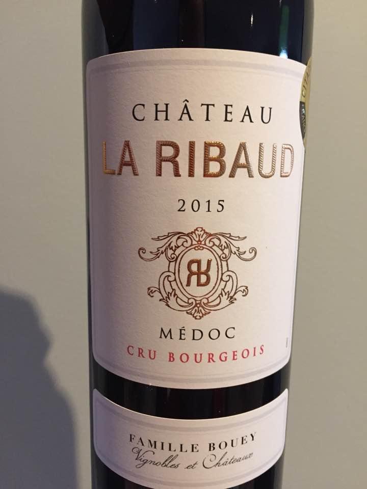 Château La Ribaud 2015 – Médoc – Cru Bourgeois
