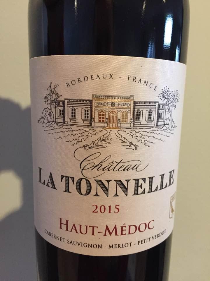 Château La Tonnelle 2015 – Haut-Médoc