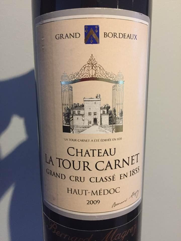 Château La Tour Carnet 2009 – Haut-Médoc – 4ème Cru Classé
