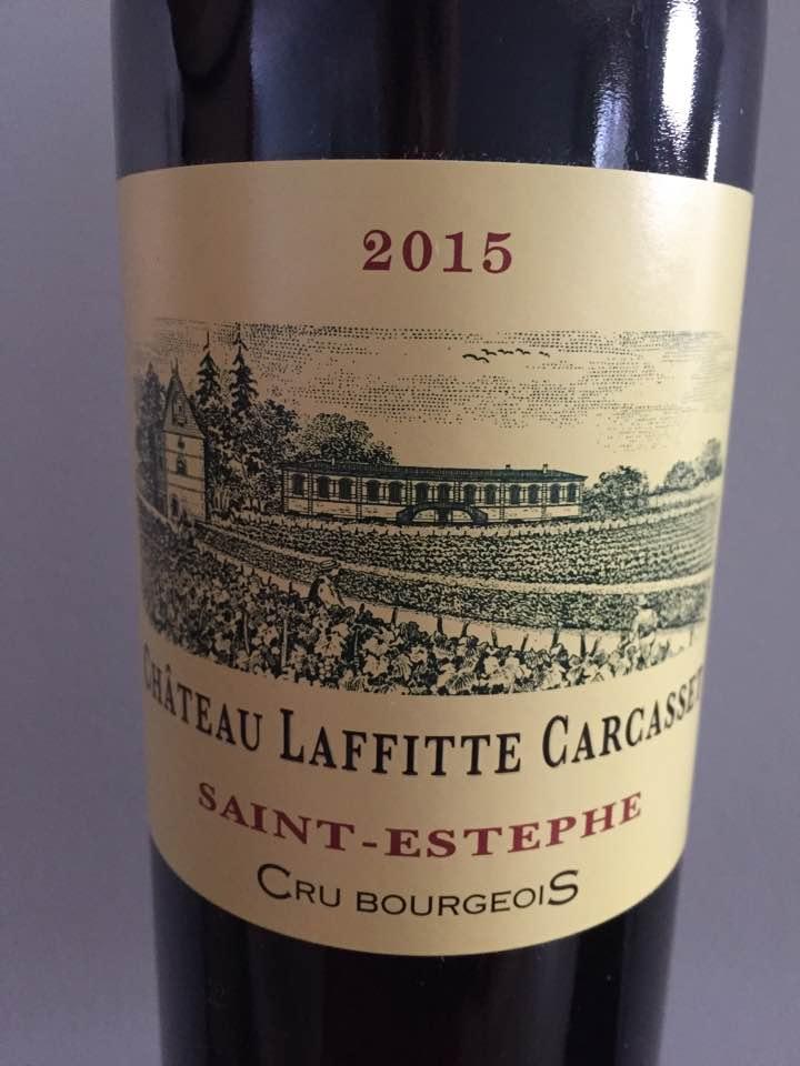 Château Laffitte Carcasset 2015 – Saint-Estèphe – Cru Bourgeois