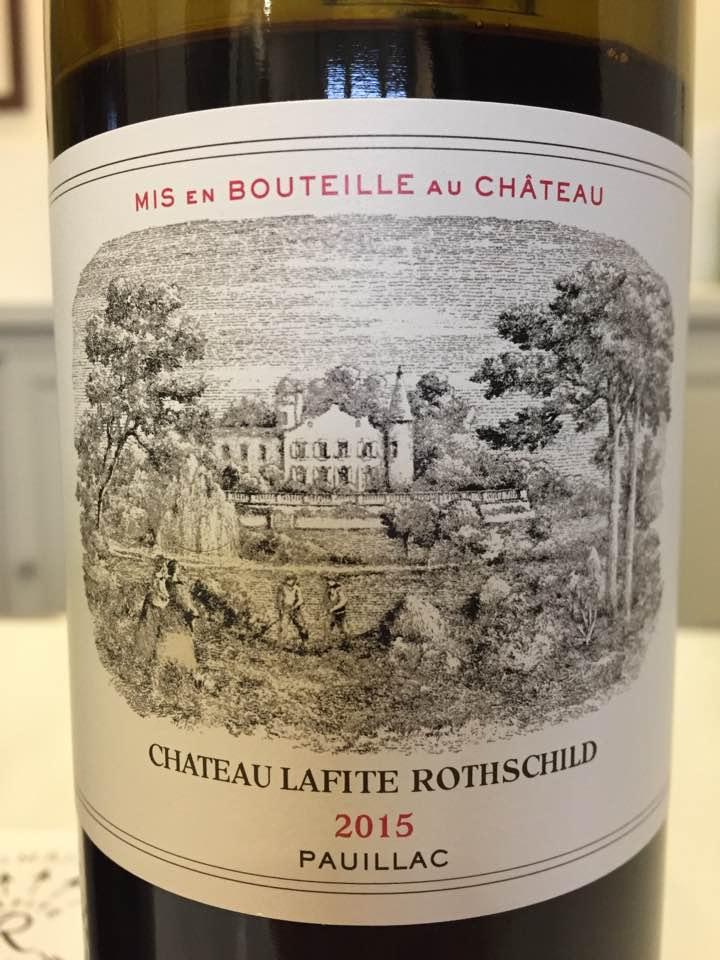 Château Lafite Rothschild 2015 – Pauillac, 1er Cru Classé