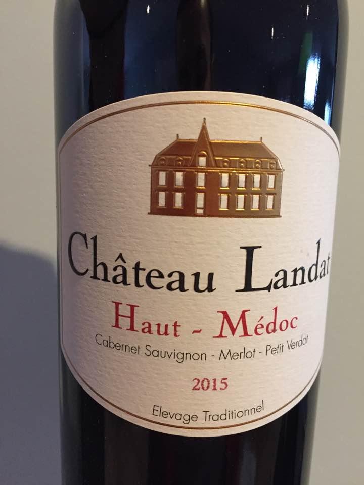 Château Landat 2015 – Haut-Médoc