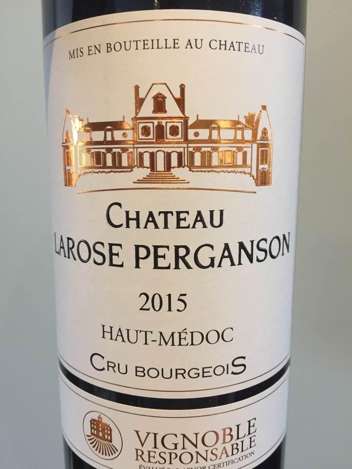 Château Larose Perganson 2015 – Haut-Médoc – Cru Bourgeois