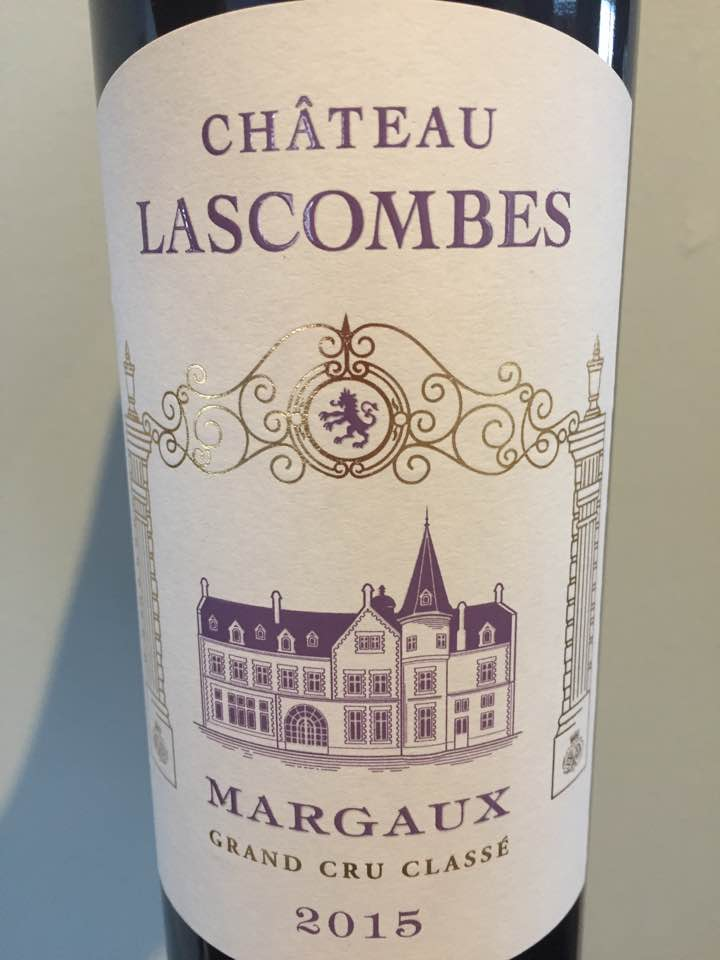 Château Lascombes 2015 – Margaux, 2nd Cru Classé